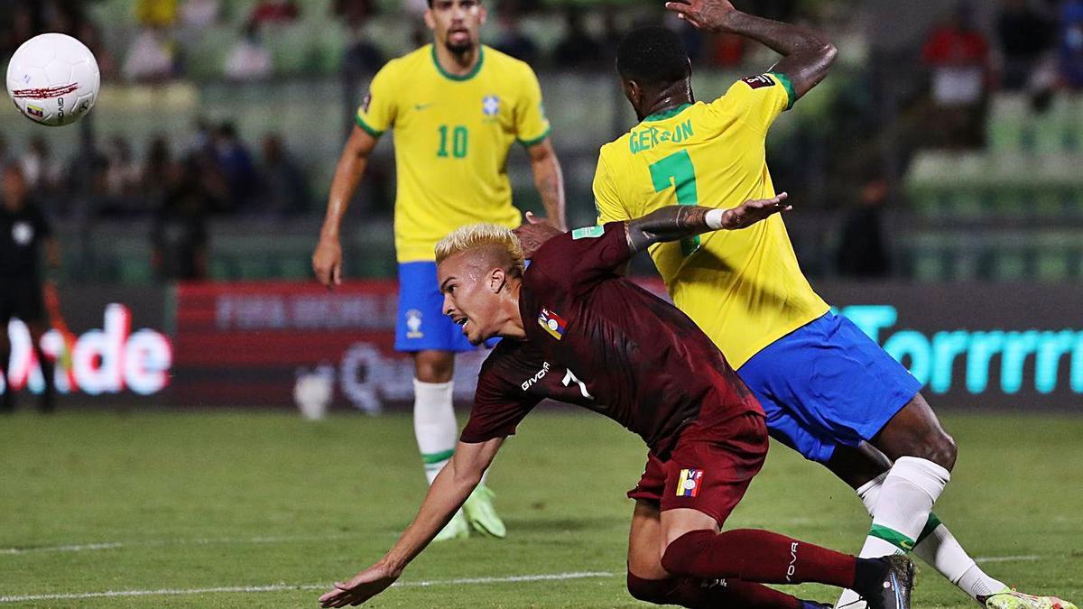 Peñaranda tutea a Brasil    MIGUEL GUTIÉRREZ