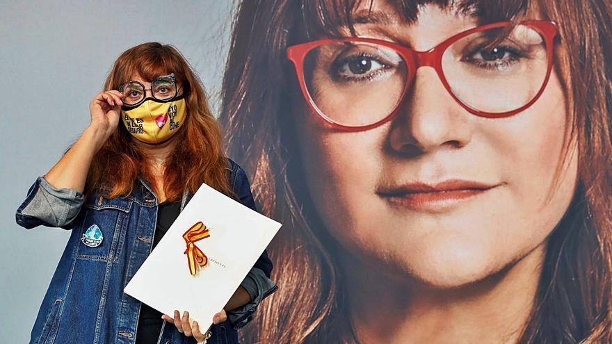 """Isabel Coixet recuerda que """"la cultura es el futuro"""" al recibir el Nacional de Cine"""