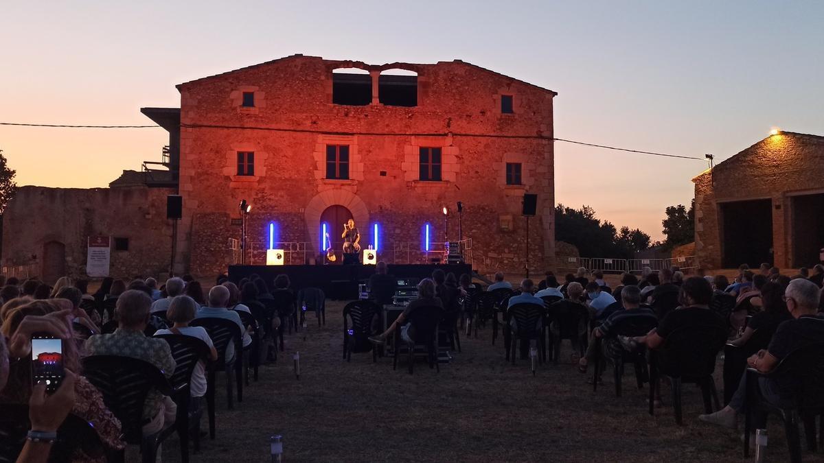 L'espai de Palol Saboldòria acull els quatre concerts dels Vespres Musicals.
