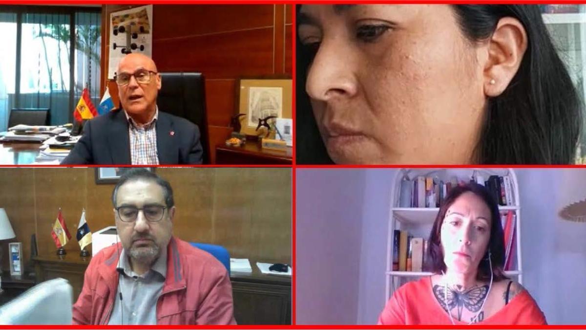 Reunión entre la Asociación Argana Viva de Lanzarote y el Diputado del Común.