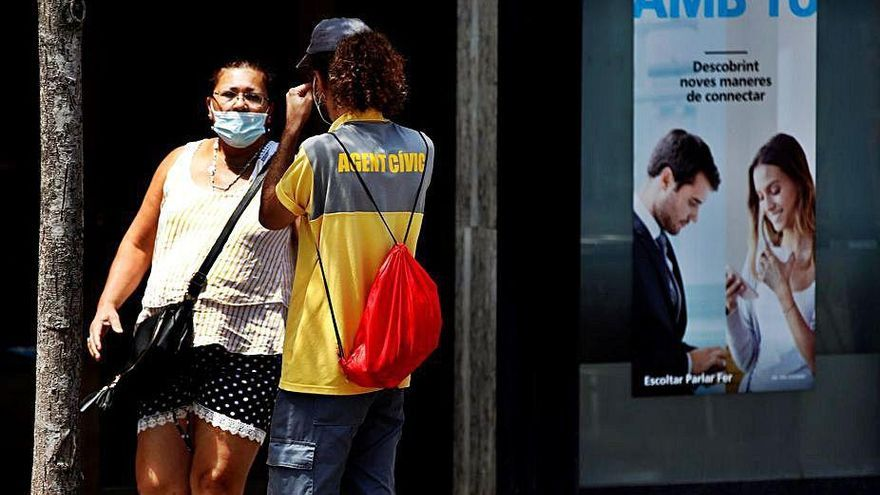 Cataluña registra casi mil nuevos positivos en 24 horas, la cuarta parte en el área de Barcelona