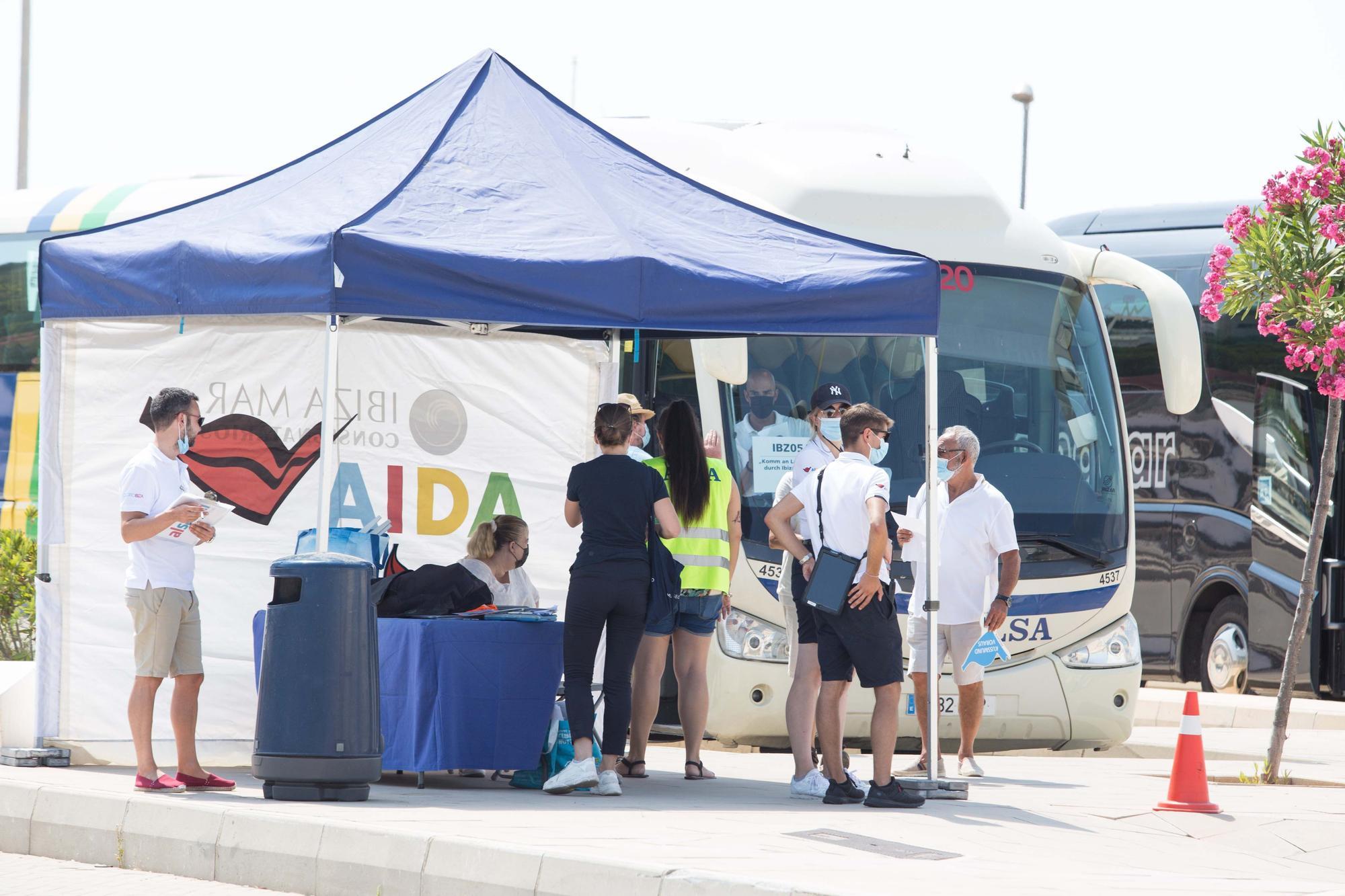 Primer crucero en Ibiza