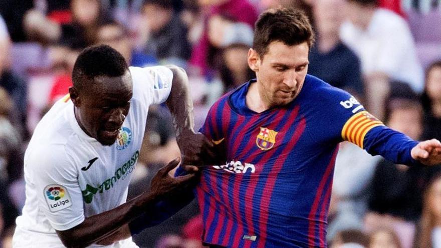 Un trist Barça cicatritza la seva ferida davant un Getafe maldestre