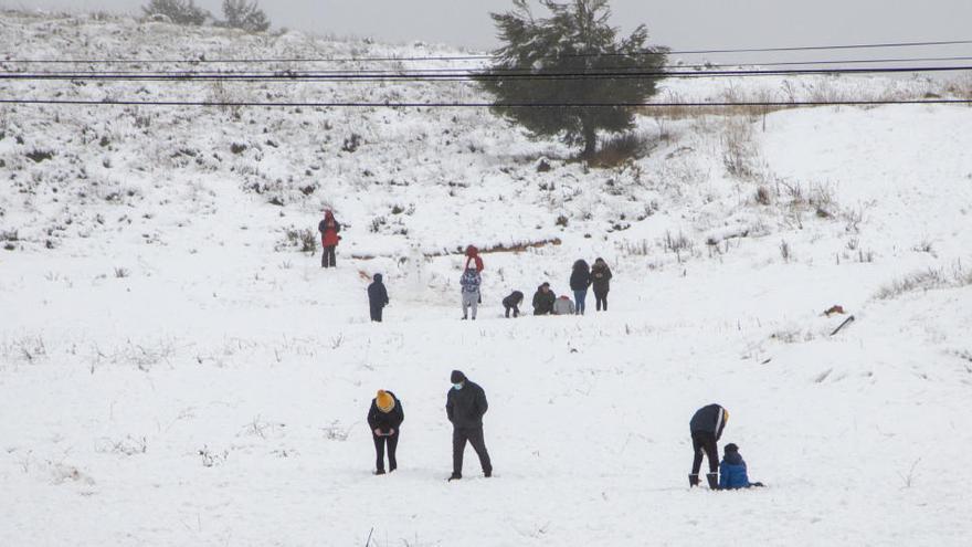 Casi 200 multas por cambiar de municipio para ir a ver la nieve