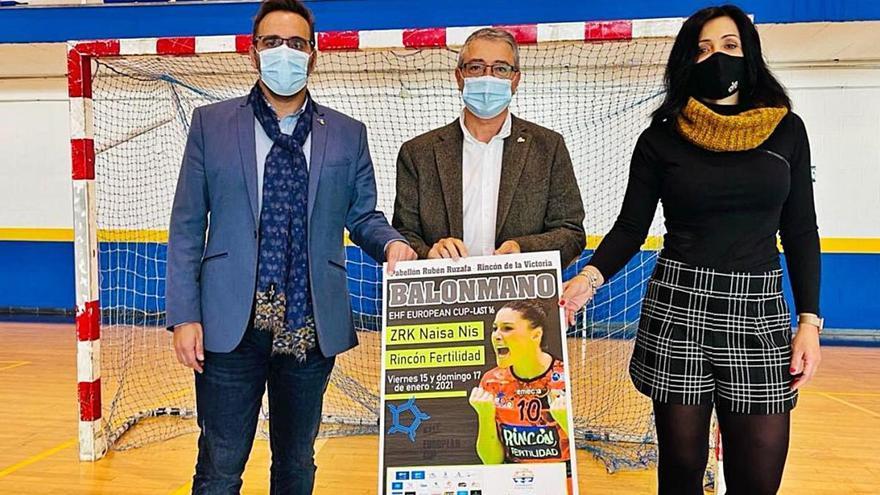 El Rincón Fertilidad jugará su eliminatoria europea en Rincón de la Victoria