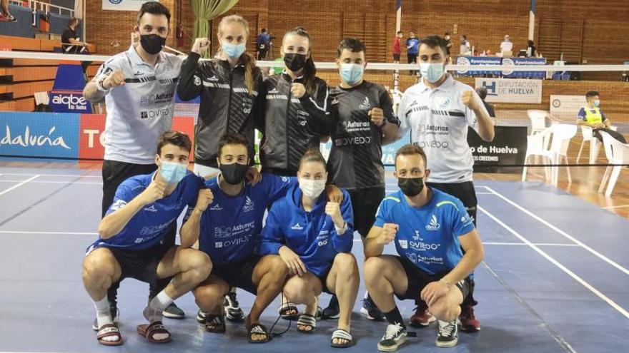 El Bádminton Oviedo jugará la final de Liga