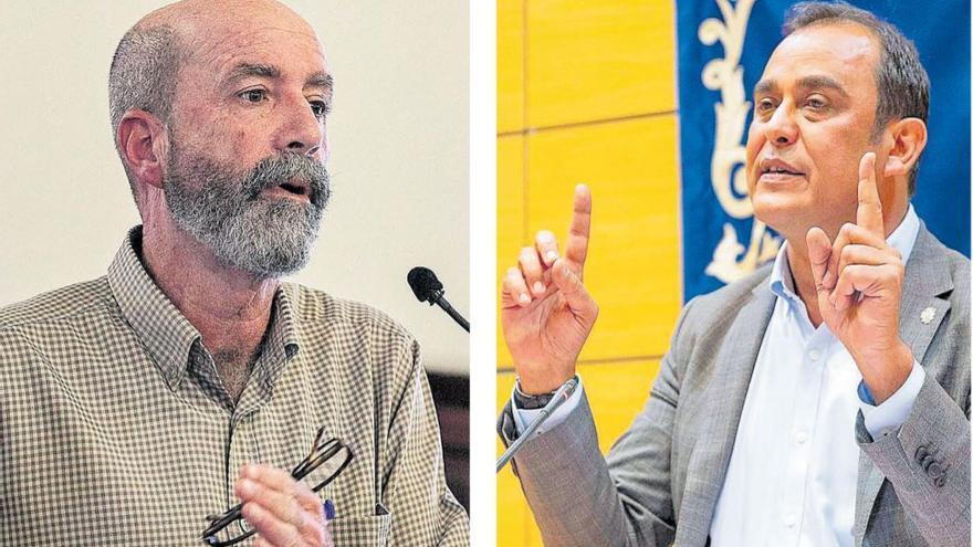 Acosta competirá  con Santiago Pérez por el puesto  de senador
