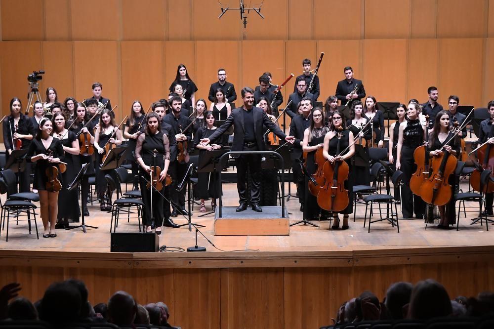 Inicio de año con los jóvenes de la Sinfónica