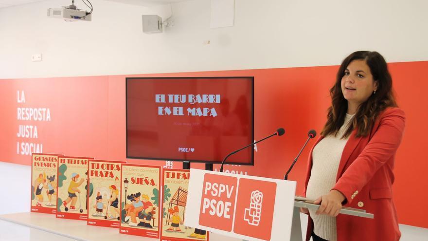 """Gómez: """"El PSPV ha gastado millones de euros en denunciar la red de corrupción del PP"""""""