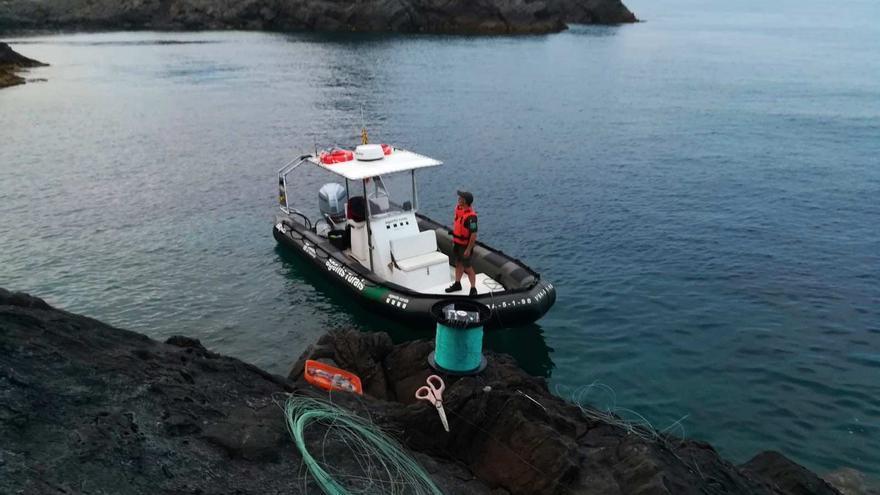 Intercepten tres furtius que volien pescar dins del Parc  del Cap de Creus