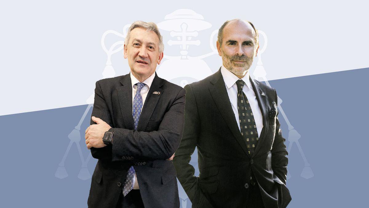 Santiago García Granda e Ignacio Villaverde Menéndez.