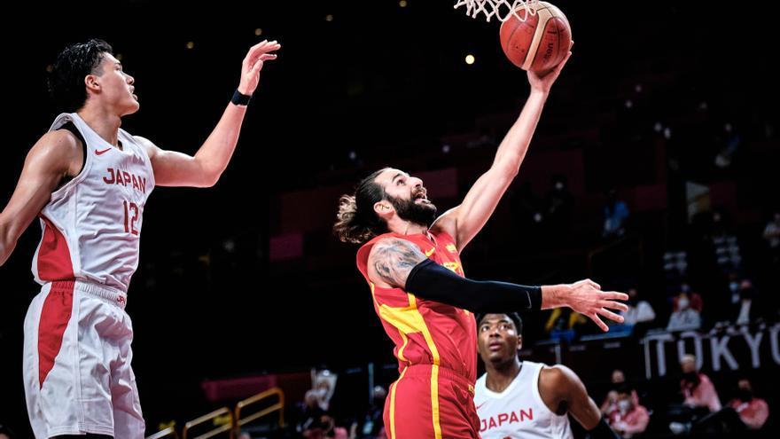 La selección de baloncesto consigue una autoritaria victoria ante Japón
