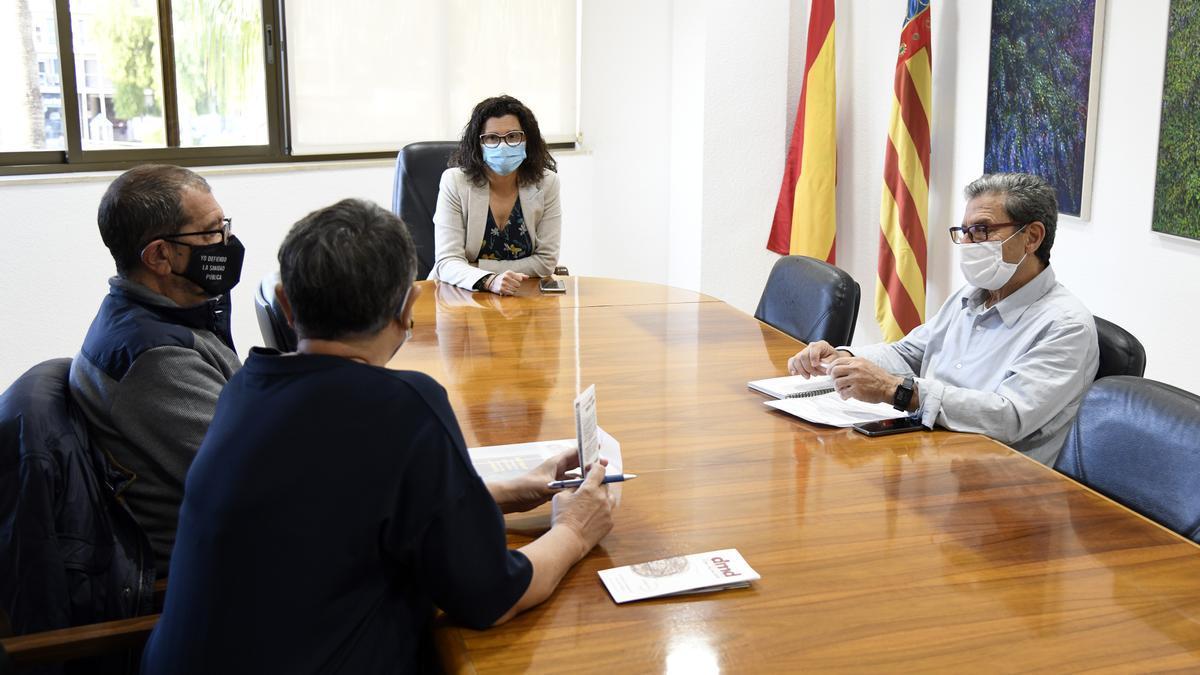 Reunión con la alcaldesa de Paiporta