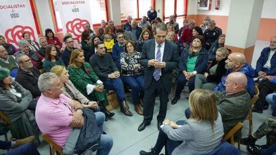 Caballero critica el colonialismo político de Unidas Podemos por poner a una candidata de Ferrol