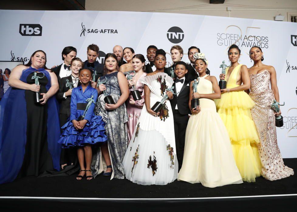 """Premios del Sindicato de Actores: El reparto de """"This is Us"""", galardonado en la categoría de serie dramática"""