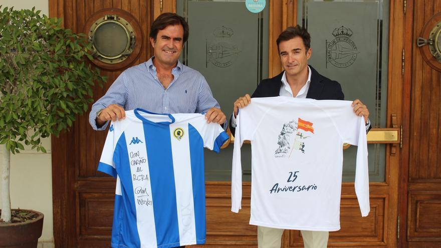 El Real Club de Regatas de Alicante y el Hércules se ayudan entre sí