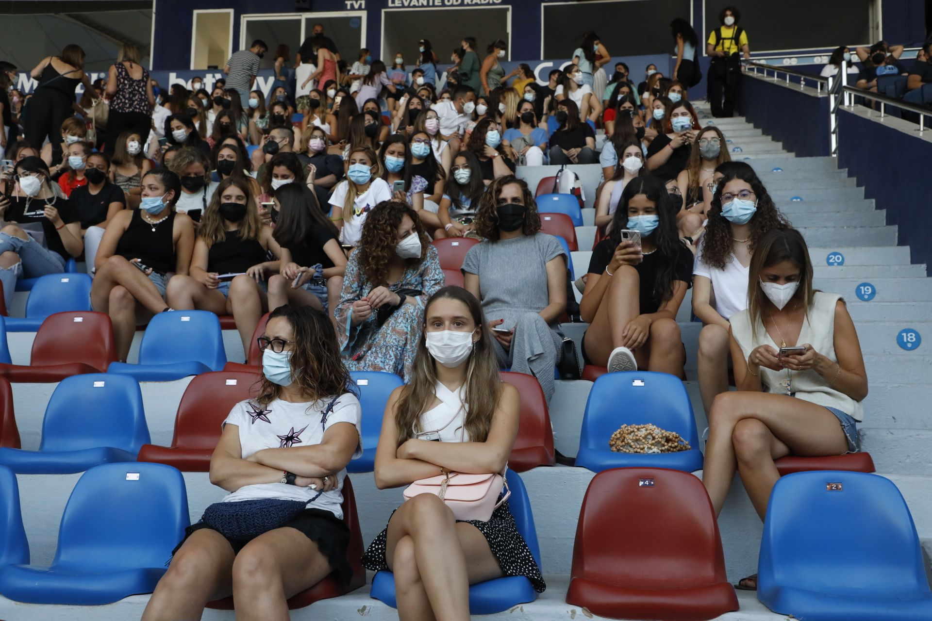 Concierto de Aitana en València, el último antes de la reducción de aforo