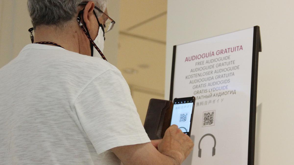 Servicio de audioguía del MCTM