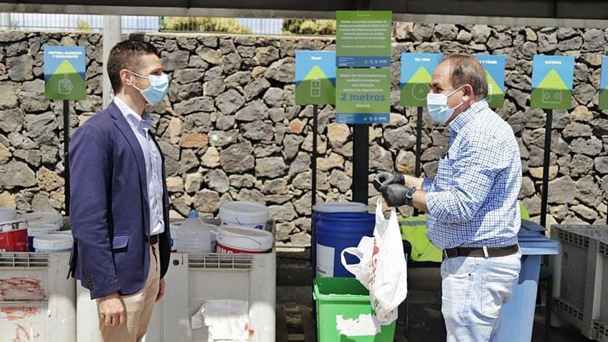 El Cabildo construirá ocho nuevos puntos limpios en la Isla y mejorará cinco