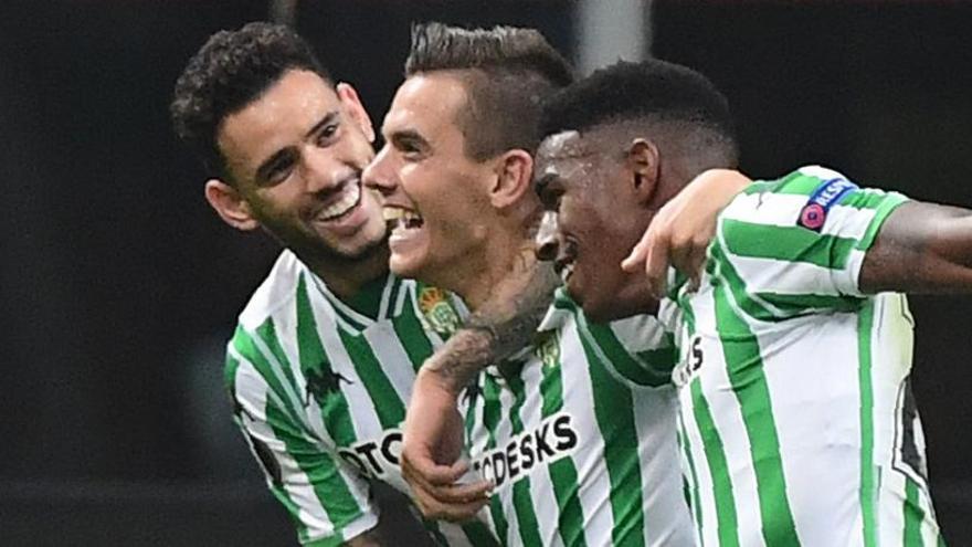 El Betis se impone al Milan y es líder del grupo F