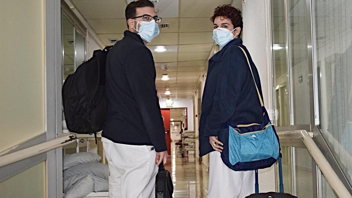 El Reina Sofía pone en marcha por primera vez el modelo asistencial de hospitalización domiciliaria