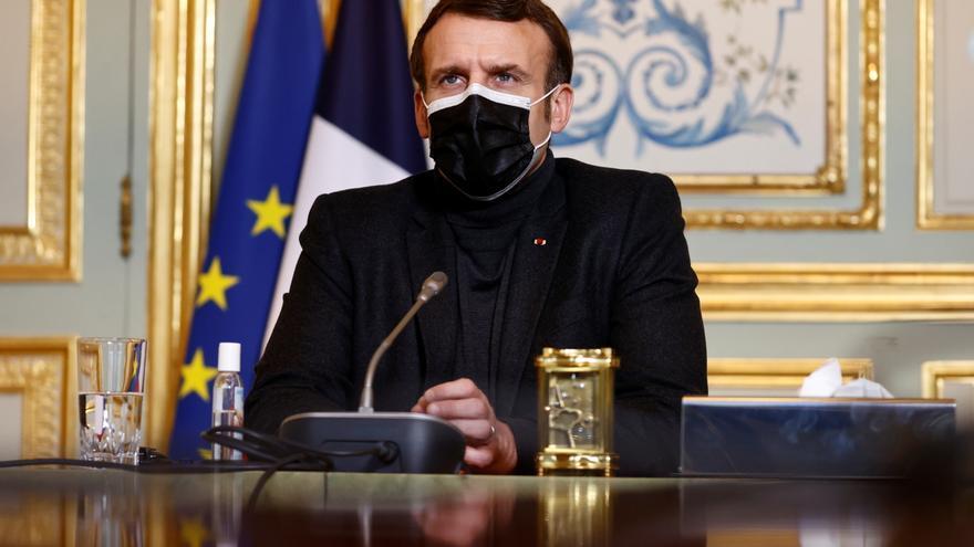 Un libro que desnuda la retórica neoliberal del presidente Macron