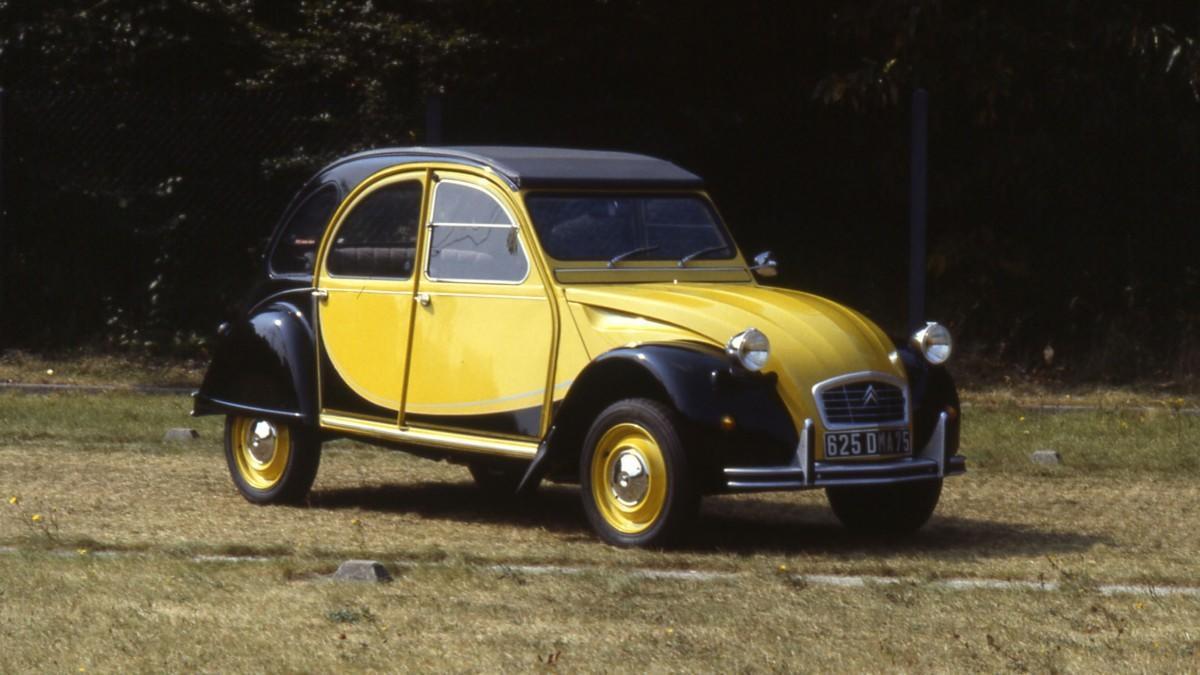El Citroën 2 CV Charleston cumple 40 años de historia