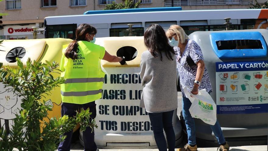 Las claves del éxito del reciclaje en Quart de Poblet