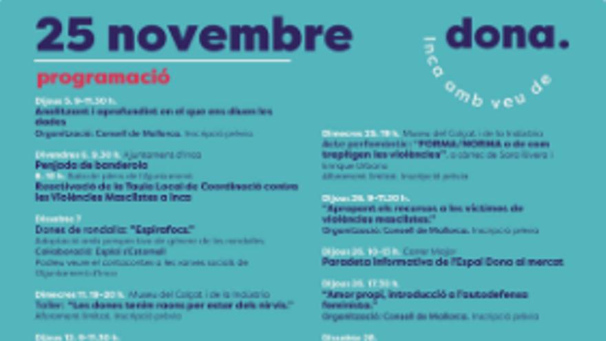 Inca amb veu de dona - 26 novembre