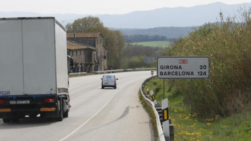 L'Estat congela el desdoblament de l'N-II exceptuant la variant de Figueres i l'enllaç fins a Orriols