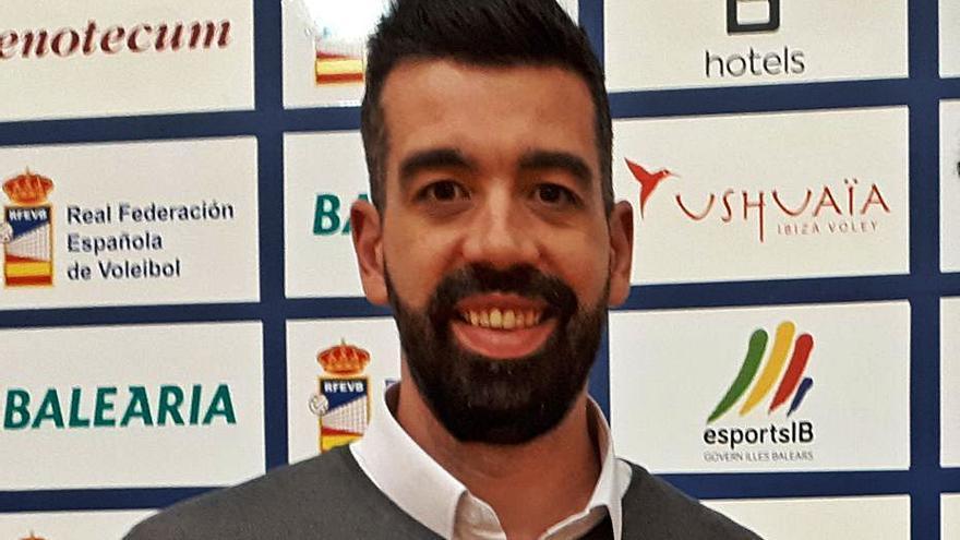 Mariano Esteban: «Nuestra inercia no es positiva, pero tenemos talento para ganar a cualquiera»