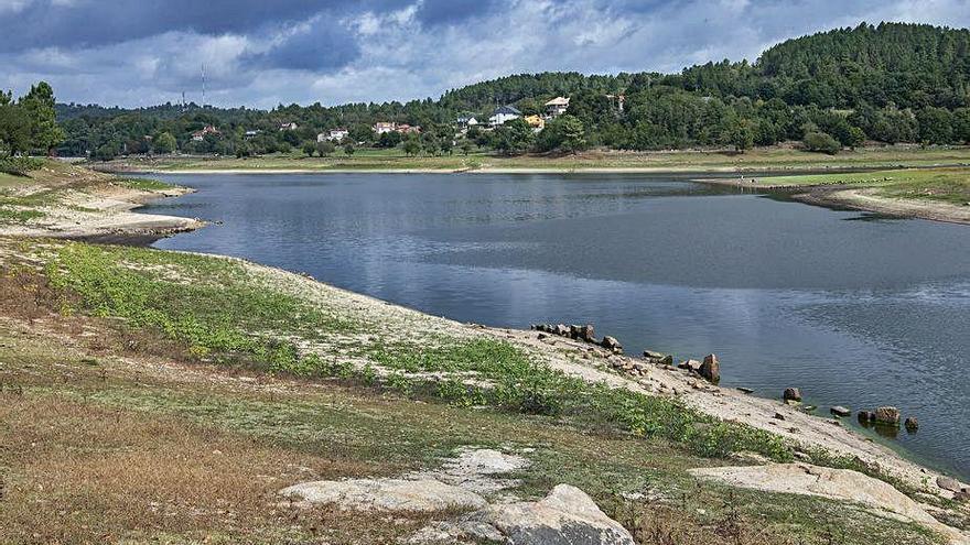 Los embalses de la cuenca Miño-Sil tienen los niveles por debajo de la media histórica