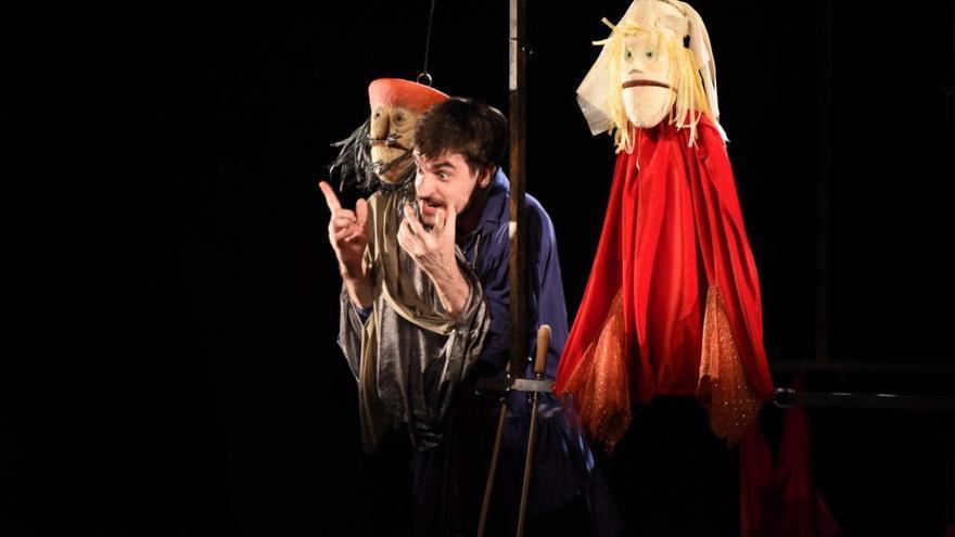 «Hamlet» toma forma de  títere en Sagunt a Escena