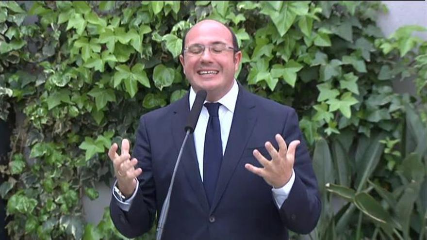 """Pedro Antonio Sánchez dice que dimitirá """"si hay una imputación formal"""""""