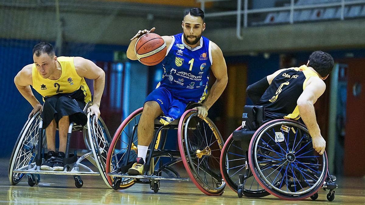 El BSR Econy Gran Canaria es uno de los equipos de deporte adaptado subvencionado por el IMD.