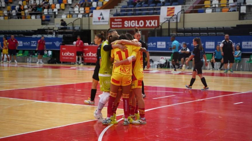 Remontada del Sala Zaragoza para hacer pleno tras dos jornadas (4-2)