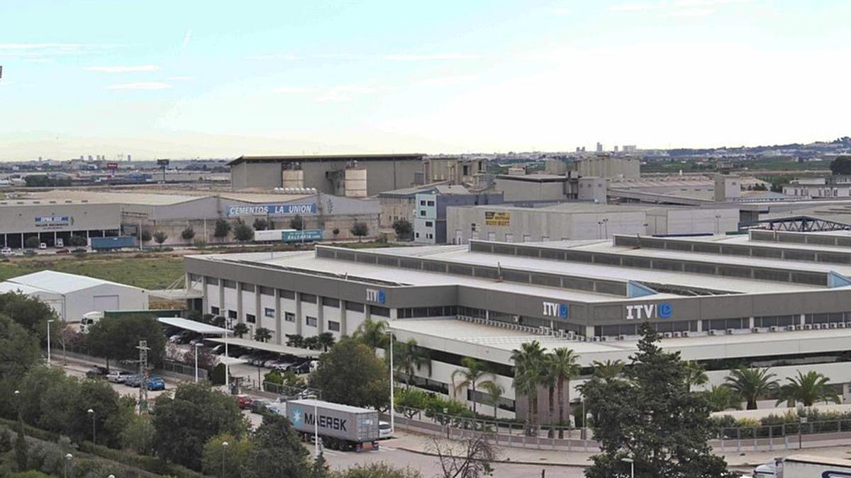 Polígono industrial de Riba-roja de Túria.