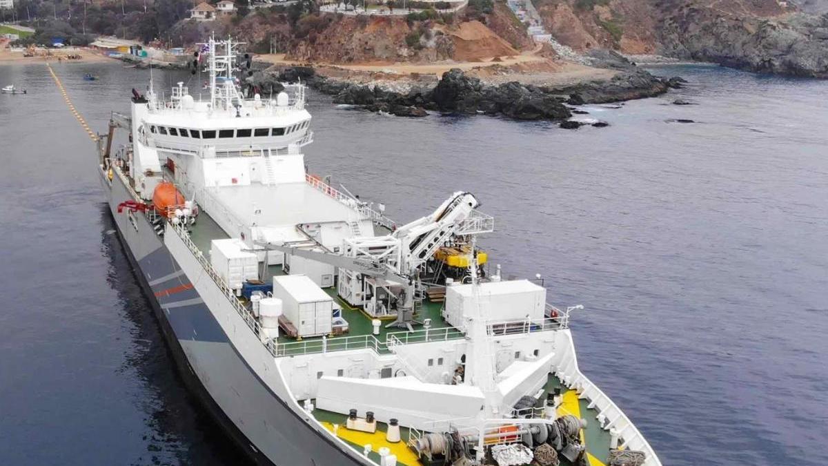 Un cable submarino unirá España con Reino Unido y EEUU.