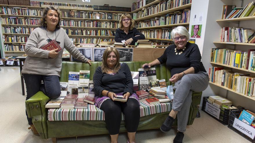 La llibreria social Taberna Libraria de Figueres celebra els seus dos primers anys