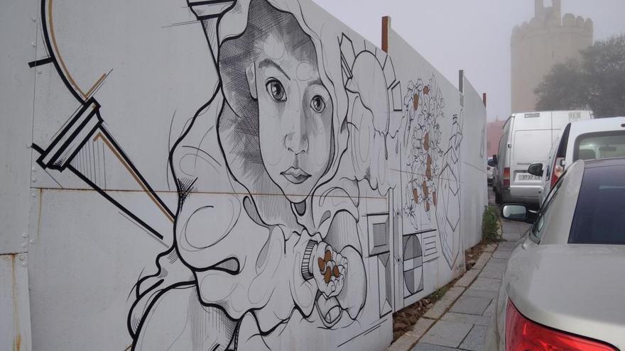 Los murales de El Campillo se llevarán al parque del río