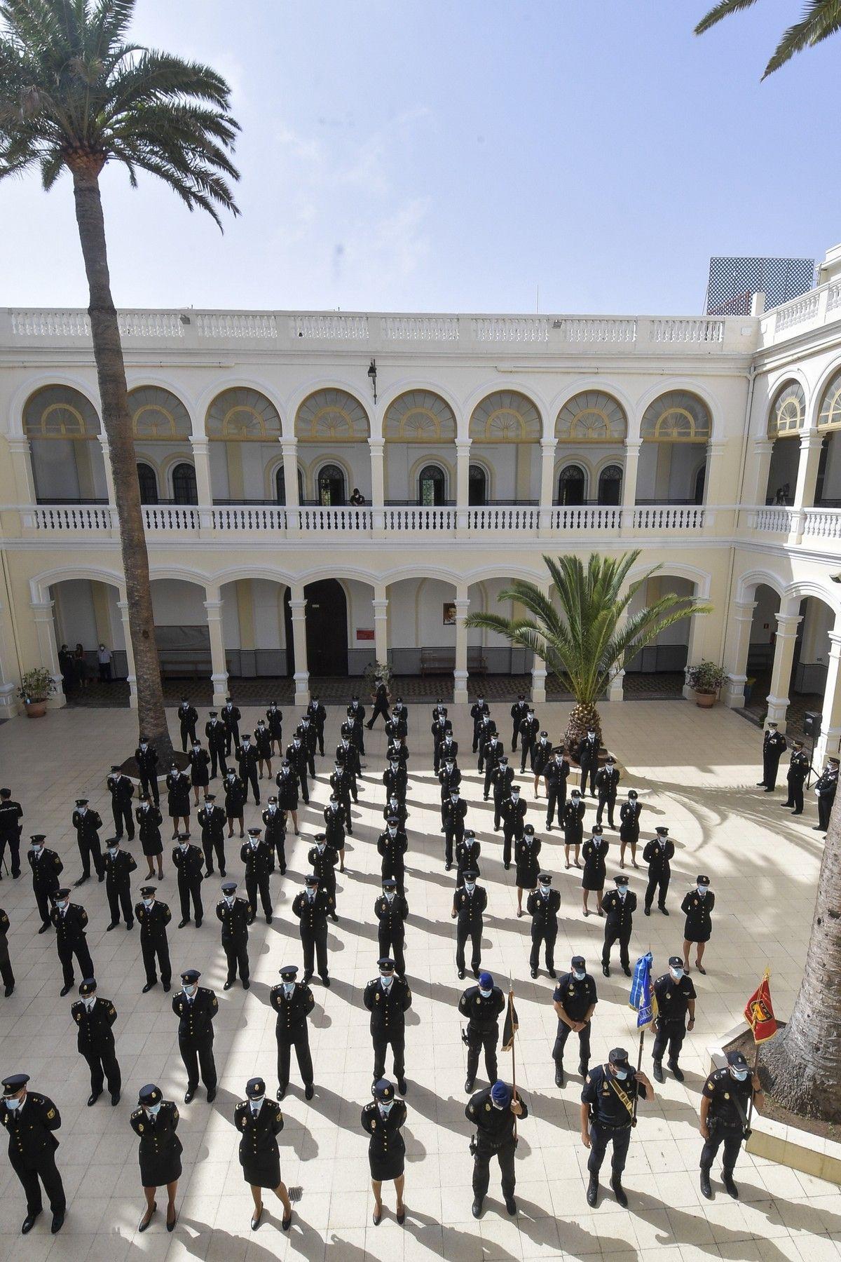Jjura del cargo de 76 alumnos de la XXXV Promoción de la Escala Básica de la Policía Nacional