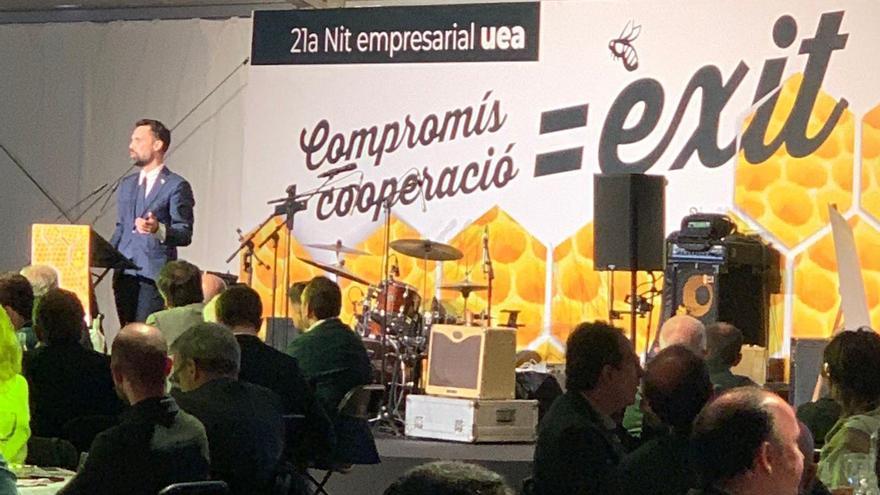 La UEA celebra la seva nit empresarial amb una crida a la suma d'esforços