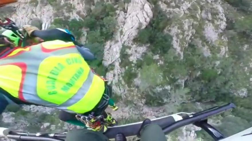 Bergwacht rettet verletzte Wanderin bei Sóller