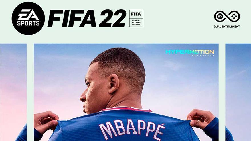 FIFA 22 presenta su primer tráiler con Mbappé en la portada