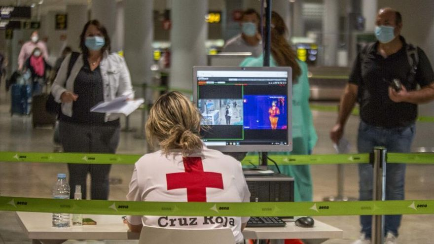 Un pasajero de Alemania que viajaba a Alicante, sospechoso de padecer coronavirus