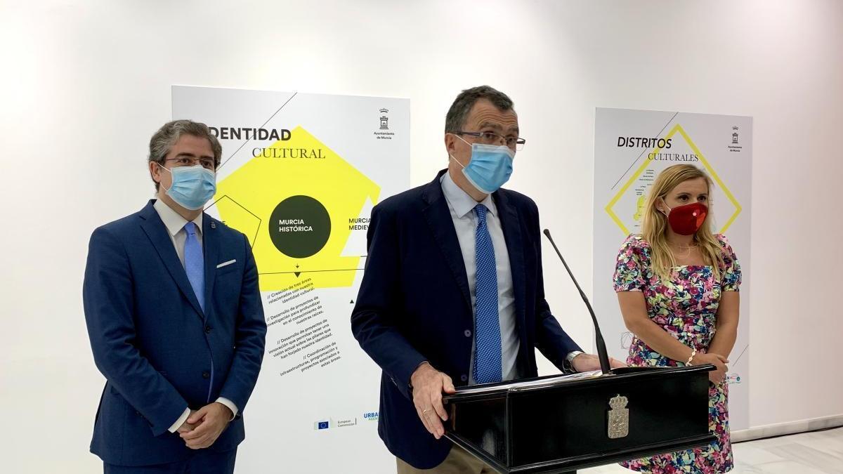Presentación del nuevo Modelo Cultural del Ayuntamiento de Murcia