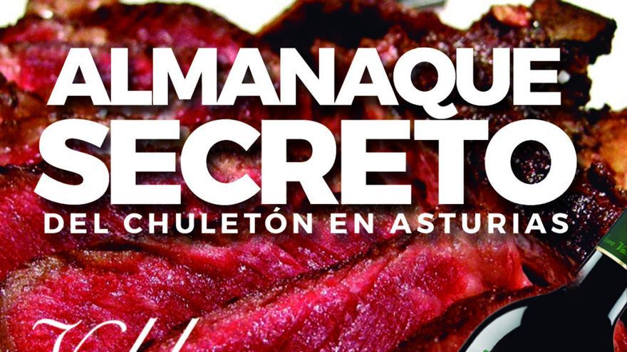 """El """"Almanaque Secreto del Chuletón"""" llega a Asturias de la mano de Valduero"""
