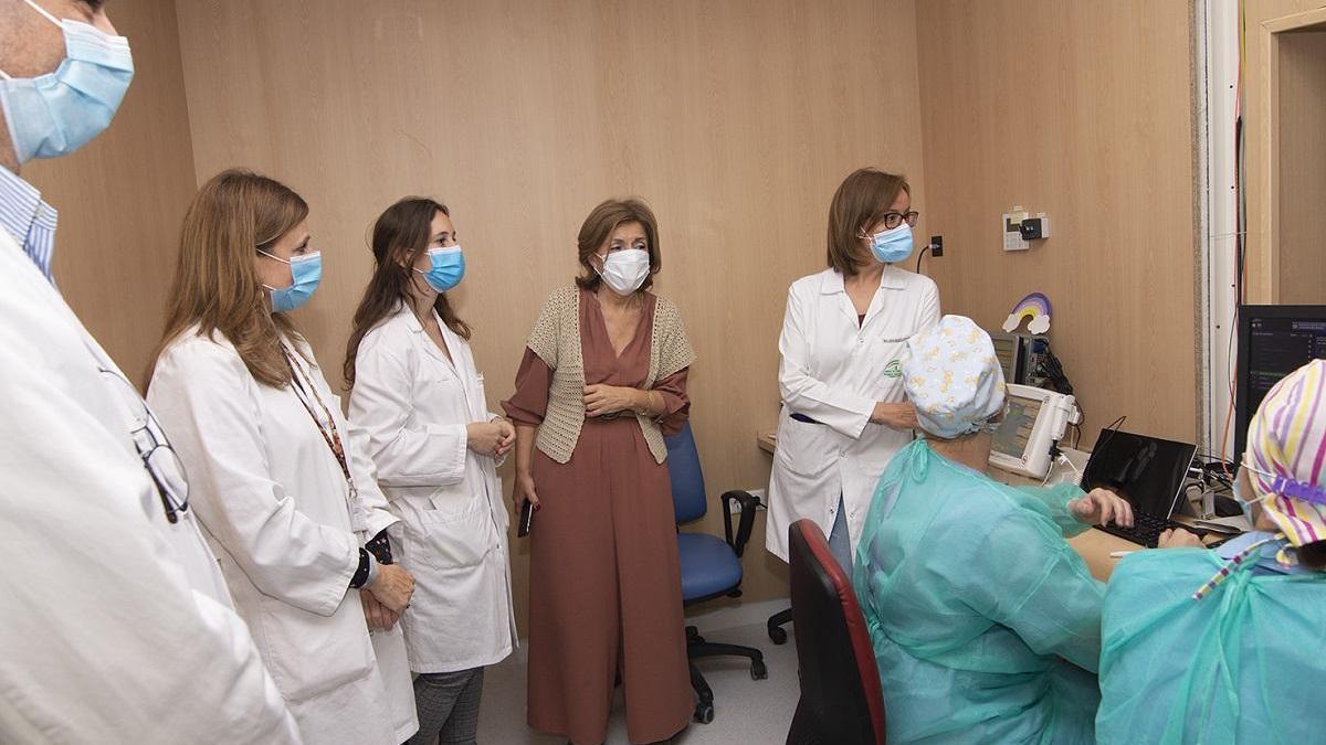 La cuarta resonancia magnética del Reina Sofía atiende ya a los primeros pacientes