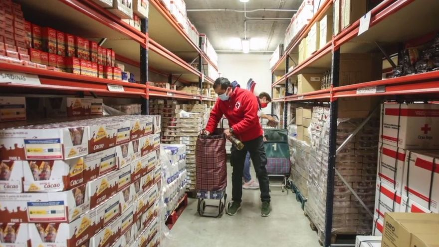 Más de 120.000 personas comen en la provincia gracias a la ayuda de las entidades sociales