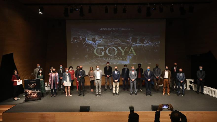 El tributo de Saura a Goya estremece el CaixaForum